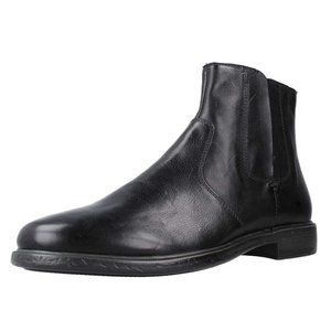 Geox Men's Terence Leather Pull-On Boot Ankle